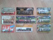 Kleine Sammlung von LKW-Modellen