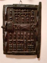Afrikanischer Holz-Wandschmuck Paket 8 Teile