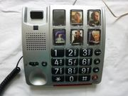 Audioline Bigtel 40 PLUS -Großtastentelefon