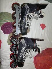 Bauer Inline Hockey Schuhe gebraucht