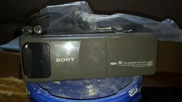 CD-Wechsler 10 fach Sony CDX-601