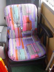 Stuhl mit Auflage