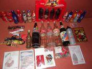 Coca-Cola Sammelartikel Konvolut