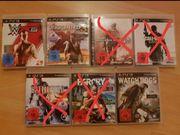 versch PS 3 Spiele