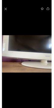 Samsung TV Fernseher weiß 101
