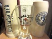 90 Biergläser und Krüge u