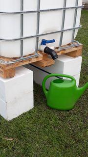 Unterbau für Wassertank