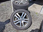 VW Golf Winterreifen auf Alufelgen