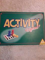 Activity sehr wenig bis kaum