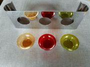 PartyLite Teelichthalter bunt für 3