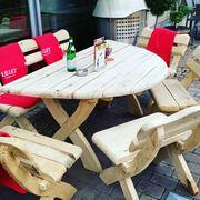 Gartenmöbel Holz Hollywoodschaukel Schaukelstuhl Eiche