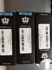 11x Uwell Crown 4 Coil