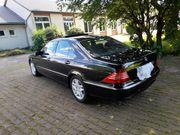 Mercedes S W220 320cdi schwarz
