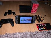 Nintendo switch mit 9 Games