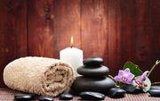 Wellness Massage im Herbst