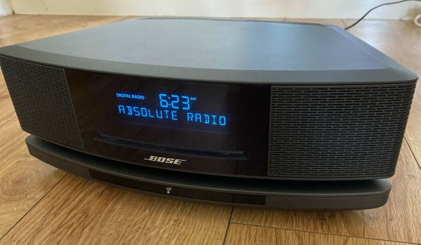 Bose Wave Music System IV digital SOUNDTOUCH Pedestal expresso Black SUPERB