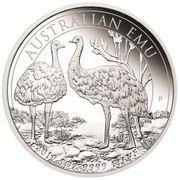 1 Dollar 2019 - Australischer Emu -