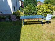 Gartentisch mit 8 Stühlen
