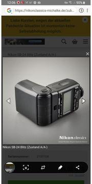 Nikon SB 24 Blitzgerät für