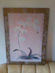 Haushaltsauflösung 2 x Kunstdruck Orchideen
