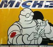 grosses Emailschild Michelin 70 cm