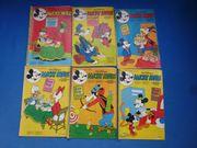 13 Mickey Maus Hefte von