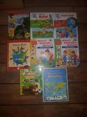 Buchpaket mit 8 Büchern Was