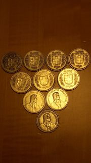 alte 5 Franken Münzen