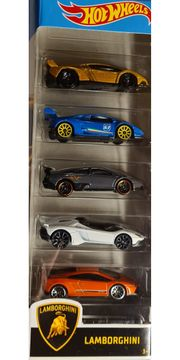 Hot Wheels Lamborghini 5er Pack -