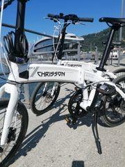 E-Citybike -Klappfahrrad