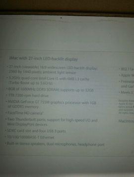 Apple iMac Intel i7: Kleinanzeigen aus Stuttgart Frauenkopf - Rubrik Apple-Computer