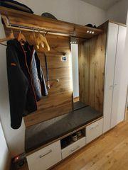 hochwertige Garderobe inkl Schuhschrank Sitzbank