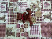 Kinderbettüberwurf Bärchen 175 x 150