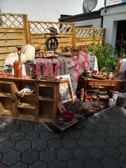 Rustikale Möbel und dazu Accesoires