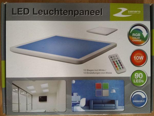 LED Leuchten Panel mit Farbwechselfunktion