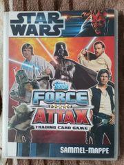 Sammelalben Starwars Force Attax
