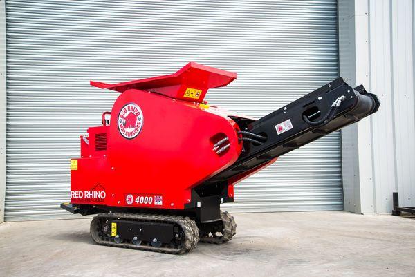 RedRhino 4000 Minibrechanlage unter 80