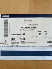 Roland Kaiser in Mannheim - SAP