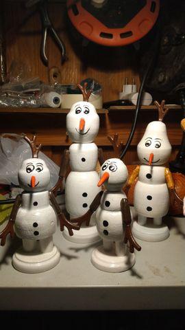 Handgefertigter Olaf
