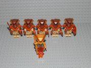 6 Minifiguren Ninjago Aspheera Pyro