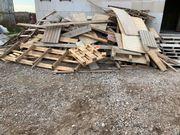 Holz Schalungsholz Latte Einwegpaletten etc