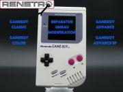 Reparatur Umbau von Gameboy Classic