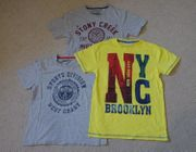 Auswahl 3 T-Shirts Gr 152