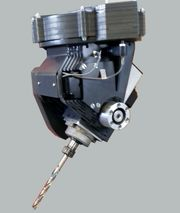5-Achsen-CNC-Fräsmaschine BC-Drehkopf