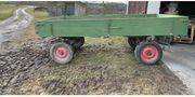 Gummiwagen Anhänger 2-achs für Traktor Schlepper