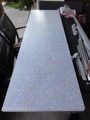 Küchen Arbeitsplatte Granit blau incl