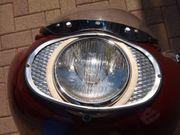 Motorrad Scheinwerfer mit Reflektor