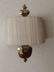 2 schöne Wandlampen
