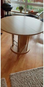 Esstisch Tisch Holz rund oval