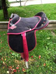 Baumloser Kindersattel Sattel für Ponys